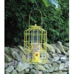 Samenfuttersilo kleine Vögel - gelb