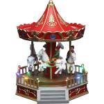 LED Karussell mit Pferden 17x20x23 cm