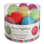 Partybeleuchtung 20 led Lichter - 5 Farben