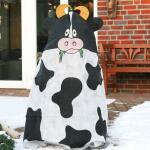 Frostschutzhülle 115 x 120 cm - Kuh