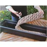 Wassermatte für Blumenkästen mit Kunstdünger