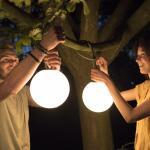 Außenlampe Fatboy® Bolleke - LED kabellos grün