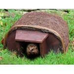 Igelhaus Natur mit Holzeingang