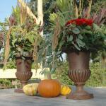 Französische hohe Vase 29 cm