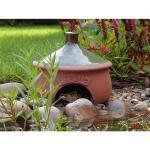 Frosch- und Krötenhaus rund aus Keramik