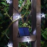 LED-Kette - 50 weiße Sterne