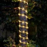 Lichterkette 8 Meter, solarbetrieben