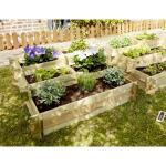 Gemüsehochbeet NIKITA - Treppenform 150 Liter