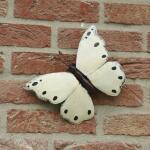 Schmetterling weiß Wanddekoration
