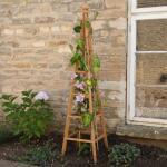 Obelisk aus Holz - 150 cm