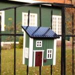 Briefkasten/Postkasten grün
