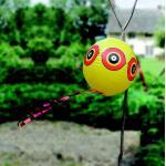 Vogelschreck Kugel - gelb