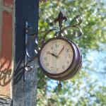 Bahnhofsuhr + Thermometer York Station