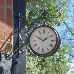 Bahnhofsuhr + Thermometer Marylebone Station