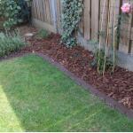 Gartenabgrenzung 380 cm für eine einfache Abgrenzung zwischen Beeten und Wegen