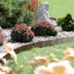 Garteneinfassung braun 390 cm