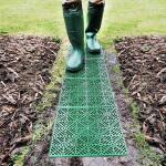 Gartenfliesen Kunststoff grün (5 stück)