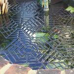 Teichschutz - treibendes Gitter - ca. 1,30 m²