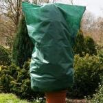Vlieshülle grün mit Reißverschluss 120 × 180 cm
