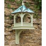 Vogelhäuschen Kupferdach (Wandmodell)