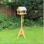 Futtertisch Gartenvögel - Schieferdach - 151 cm