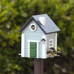 Vogelhaus/Futterhaus Multiholk Grey House