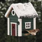 Vogelhäuschen / Futterhäuschen Multiholk Plus Stugan