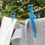 Wäscheklammern windfest