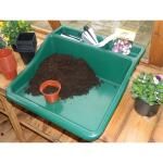 Arbeitsschale kompakt - Kunststoff grün