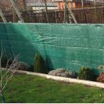 Wind- und Sichtschutznetz grün 1,5 x 9 m