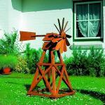 Windrad aus Holz (amerikanisches Modell)