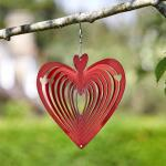Windrad rotes Herz