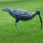 Großer Brachvogel aus Metall